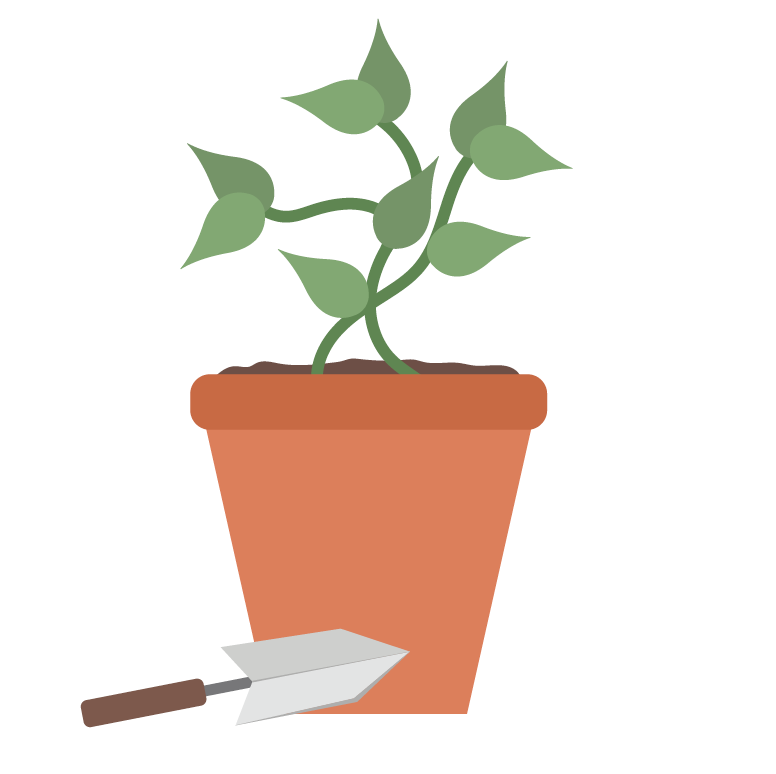 graphic of a plant
